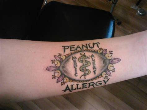 tattoo allergy best 25 alert ideas on