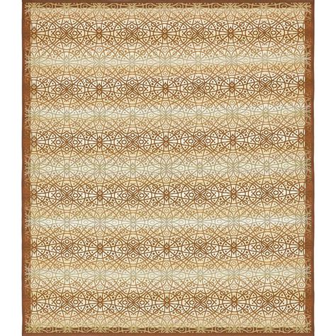 10 X 12 Outdoor Rug Unique Loom Outdoor Beige 10 Ft X 12 Ft Area Rug 3138481 The Home Depot