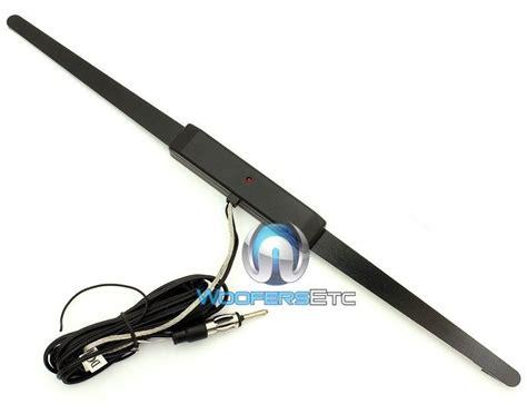44 ua200 universal power lified window glass mount am fm radio antenna new ebay