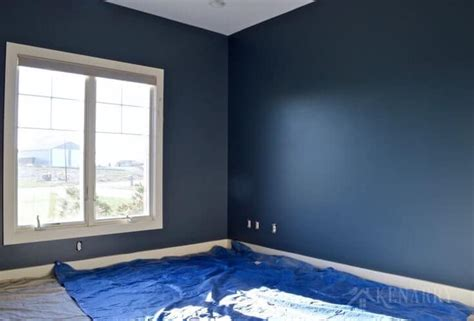 sherwin williams blue bedroom outerspace paint creating a galactic change