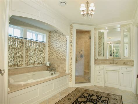 Bathroom Alcove Ideas Fabulous Cafe Curtains For Bathroom Decorating Ideas Gallery In Bathroom Traditional Design Ideas