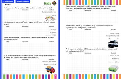imagenes niños matematicos genial problemas para cuarto de primaria galer 237 a de