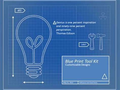 blueprint tool blueprint tool kit a powerpoint template from