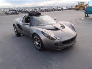 Damaged Lotus For Sale Salvage 2006 Lotus Elise For Sale