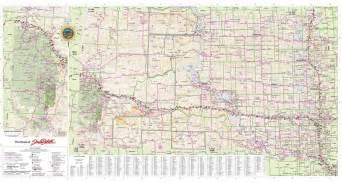 South Dakota State Map by South Dakota State Highway Map Maplets