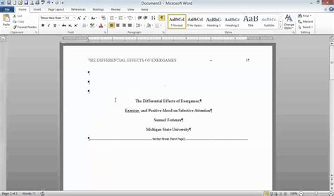 format apa video title apa format cover page exles