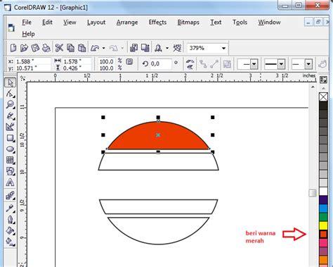 tutorial logo indosiar coreldraw tutorial cara membuat logo corel draw blog pns