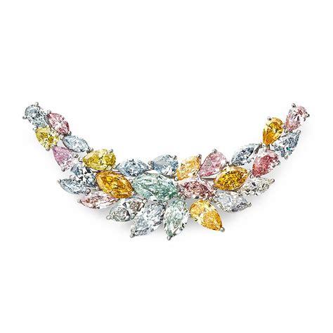 fancy colored diamonds fancy color brooch jerry blickman