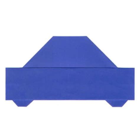 Easy Origami Car - how to make an easy origami car page 1