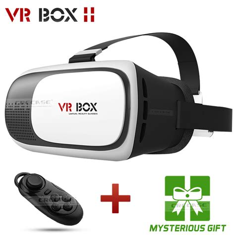 Vr Box Smartphone 3d Reality Glasses cardboard vr box ii 2 0 version vr reality 3d glasses for 3 5 6 0 inch