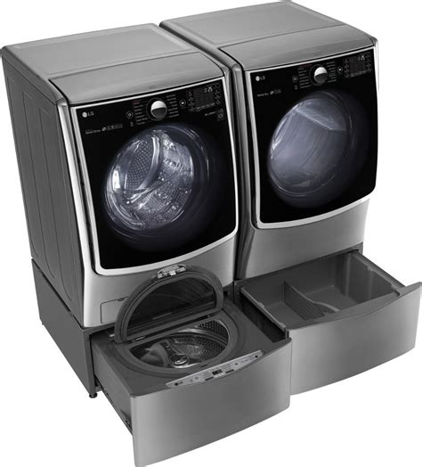 Lg Dryer Pedestal Lg Wm5000hva Front Load Washer Amp Dlex5000v Electric Dryer