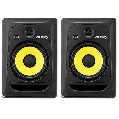 Krk Rokit 8 G3 Black krk rokit rp8 g3 active studio monitor speakers pair