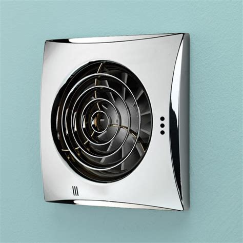 humidifier fans for bathrooms hush timer humidity fan chrome