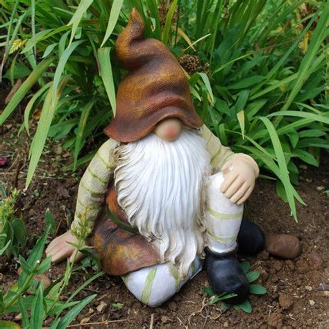 cute garden gnomes gnomes so cute and gardens on pinterest