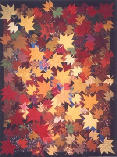 quilt pattern autumn leaves i love this quilt i cant wait until i can make one for