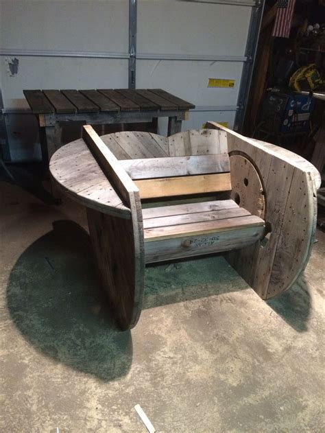 Cable Reel Rocking Chair by 17 Best Ideas About Spool Chair On Industrial