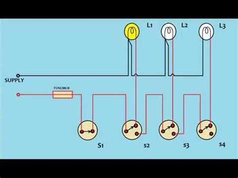 circuit diagram of staircase wiring wiring diagram