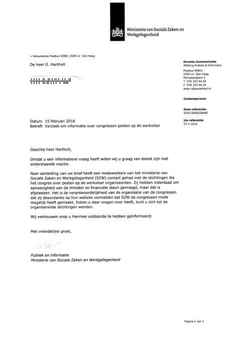 Brief Kv Schweiz Verzamelde Bewijzen Onethische Handelwijze Stichting Pesten Op De Werkvloer Waarom Plaatste