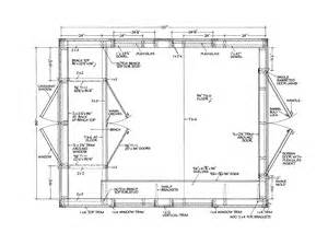 Floor Plans For Sheds Shed Floor Shed Plans Package