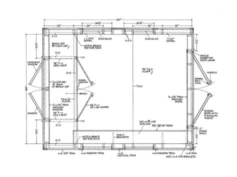 gable shed plans part   step  step shed plans