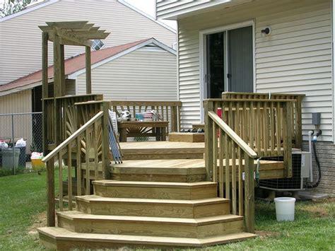 Deck Corner Stairs Design Deck Steps Probuilt Deck Fence Llc Deck Gallery Deck Ideas Pinterest In The Corner