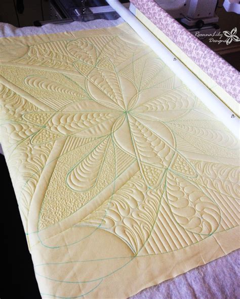 How To Arm Quilt by Free Motion Quilting Longarm Quilting Whole Cloth