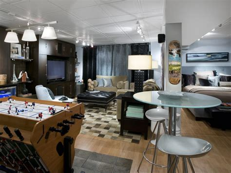 10 Chic Basements By Candice Olson Decorating And Design Basement Bedroom Ideas For Teenagers