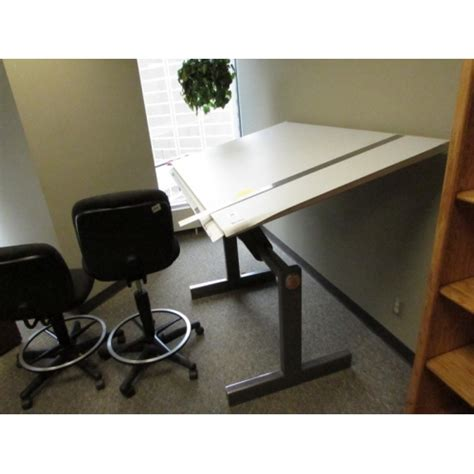 Drafting Table Calgary Norman Wade Radius Tension Drafting Table 60 X 38 Allsold Ca Buy Sell Used Office
