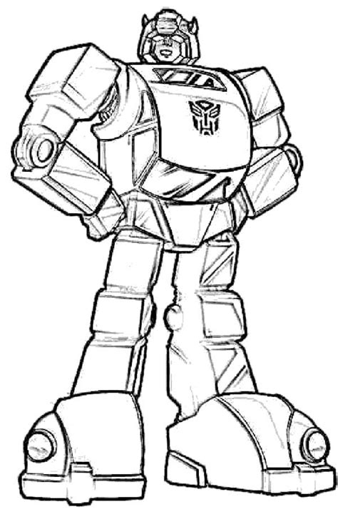 Transformers Coloring Pages Coloring Pages To Print | bumblebee transformers coloring page craft ideas