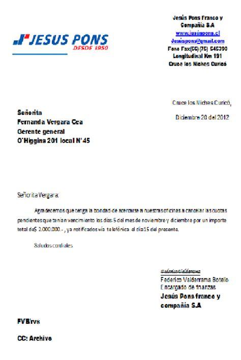 ejemplo de carta de repudio o rechazo de derechos ejemplo de carta de repudio ejemplo carta de cobranza