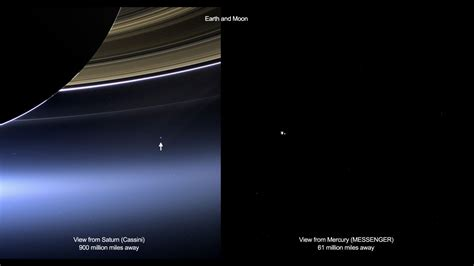 earth as seen from saturn space exploration images the human adventures in space
