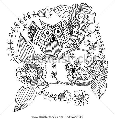 owl butterfly coloring page 399 best buhos 03 images on pinterest owls owl and