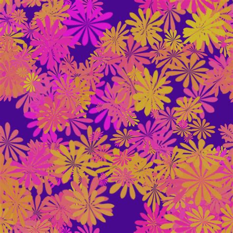 Floral Pattern Deviantart | floral pattern tileable seamles 2000x2000 free by