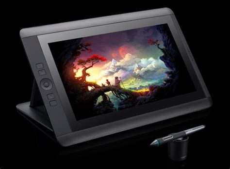painting for tablet wacom debuts new cintiq 13hd for artists standalone