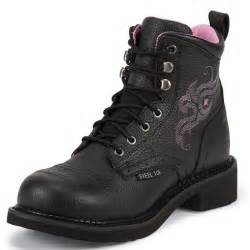 Pink Kitchen Knives shop women s justin black pebbled grain steel toe work boots