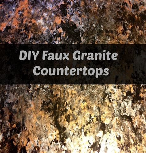 Best Faux Granite Countertops Techniques by Cheap Granite Countertops