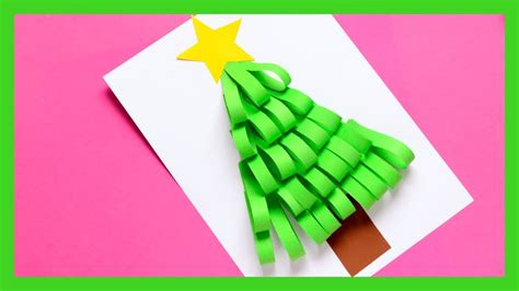 paper strips craft paper strips tree craft craft idea