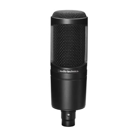 Audio Technica At2020 Usb audio technica at2020 cardioid condenser studio microphone