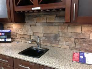 natural stone kitchen backsplash pin by lisa terbeek on home ideas pinterest