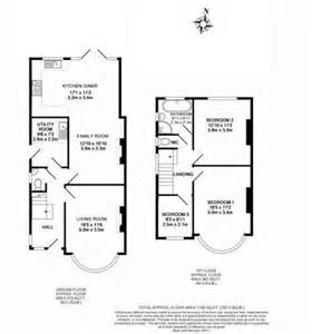 Extension Floor Plans by 3 Bed House Floor Plan Rear Extension Google Search
