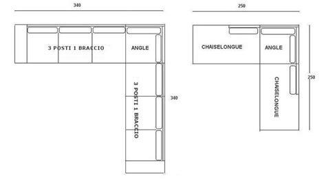 dimensioni divani ad angolo divani angolari