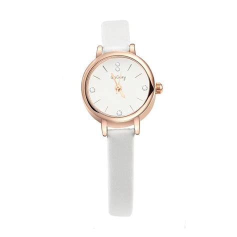 Jam Tangan Quartz Kecil jual daily deals gogoey 053 jam tangan fashion korea