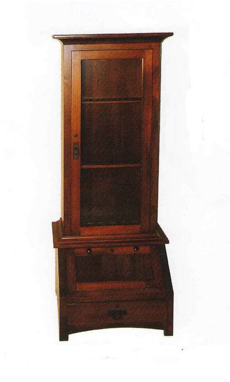 Handmade Amish Furniture - amish custom furniture fresno collection dining hutch