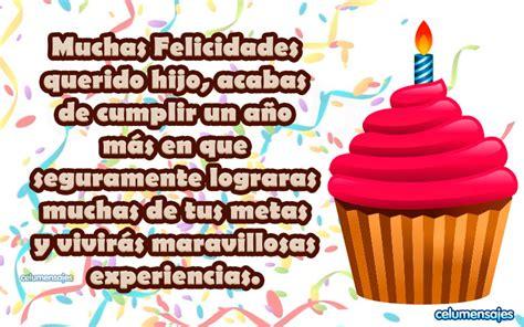 frases y imagenes de cumpleaños para un hijo en tu cumple muchas felicidades d