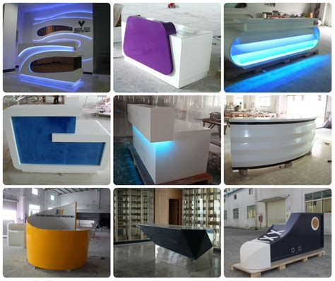 Vanity Of Small Differences Hotel Reception Desk Design Information Counter Design