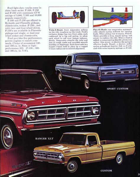 old cars and repair manuals free 1971 ford mustang free book repair manuals directory index fmc trucks vans 1971 trucks vans 1971 ford pickup brochure