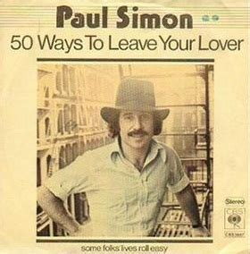 paul simon when i was a little boy 50 ways to leave your lover wikipedia