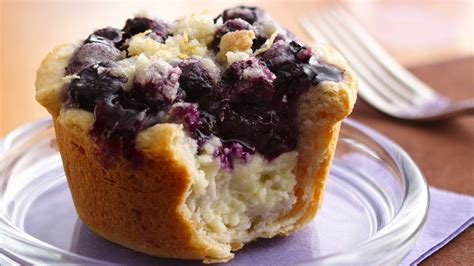 Pie Cheese Blueberry Mini blueberry cheese mini pies recipe from pillsbury