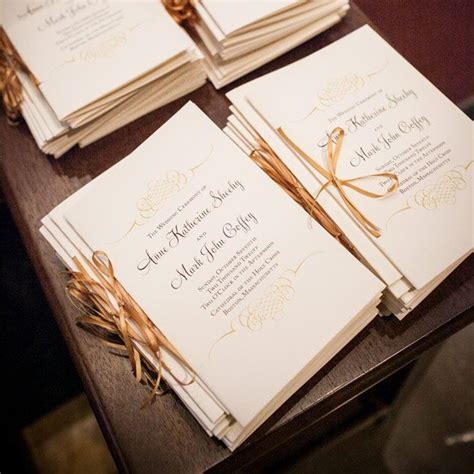 1000 ideas about creative wedding programs on pinterest
