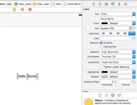 membuat aplikasi ios dengan xcode membuat aplikasi ios pertama quot hello world quot my personal